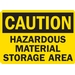 HAZARDOUS MATERIAL STORAGE AREA